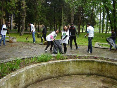 Да изчистим България за един ден - ПГСС Проф. Иван Иванов - град Долни Дъбник
